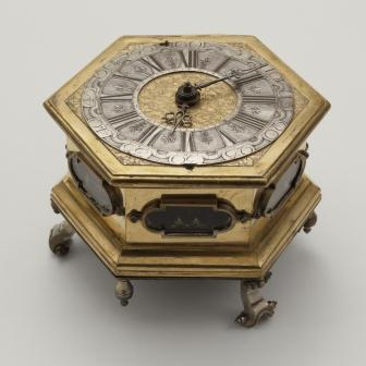 Table Clock and Case by Georg Metzner Copyright LACMA