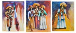 """Women of the Mexican Revolution"" Series by Joseph Wolves Kill"